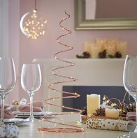 Copper Table Top Christmas Trees